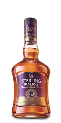 Sterling Reserve B10 - Premium Blended Whisky